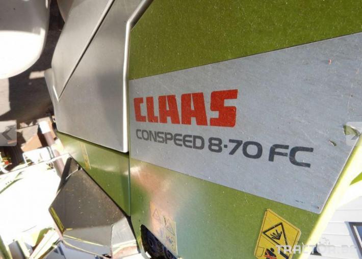 Хедери за жътва ХЕДЕР CLAAS CONSPEED 8.70 FC 3 - Трактор БГ