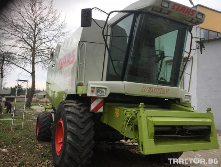 Комбайни Комбайн Claas LEXION 460 0 - Трактор БГ