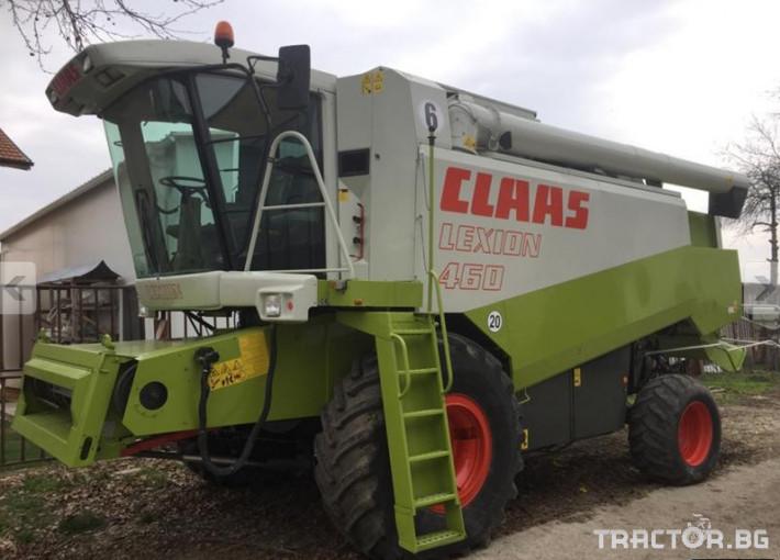 Комбайни Комбайн Claas LEXION 460 2 - Трактор БГ